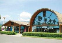 鹿屋航空基地史料館に隣接する物産館「鹿屋市観光物産総合センター」