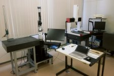 部品などの寸法を精密に測定できる三次元測定機を導入。信頼されるモノづくりへの追求に余念がない