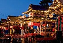 「お旅まつり」で披露される「曳山(ひきやま)子供歌舞伎」。250余年の歴史を持つ