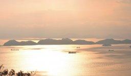 徳山下松港の沖合約10㎞に位置する「大津島」