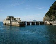大津島には戦時中、特攻兵器「回天」の訓練が行われ、全国で唯一、訓練に使用された基地跡が現在も残されている