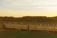 銚子半島を走る銚子電鉄の車両。銚子駅から外川駅まで全長6・4kmを結ぶ。会社設立は大正11(1922)年