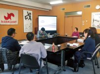 事業者と専門家による営業指導に関するワークショップの様子