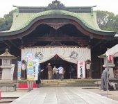 1691年に創建された「多賀神社」