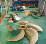 平成17年に社運をかけて建設した玉島工場。世界トップレベルの製造力を持ち、その後の造船バブルの到来でフル稼働する