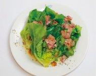 1位を獲得した「サラダ菜ペペロンチーノ」