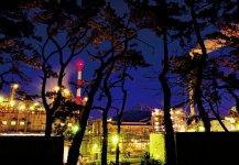 富士市の工場夜景