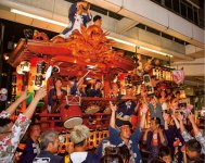 吉原祇園祭の山車