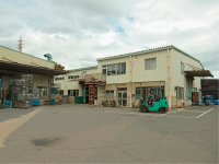 岐阜県可児市工業団地内にある中部静電塗装の本社と工場