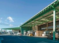 群馬県前橋市にある廃棄物処理工場は、まるで生産工場のようにきれいに整理整頓されている
