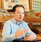ナカダイ常務取締役の中台澄之さん。「僕たちが取り組んでいることを全国の産業廃棄物業者に広めていきたいと思っています」
