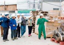 廃棄物処理工場では定期的に工場見学を行っており、新たな観光スポットにもなっている