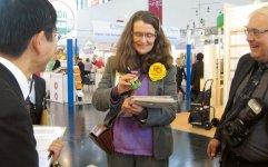 ドイツのニュルンベルクで毎年開催される国際的なオーガニック食品展示会「BIOFACH」に出展