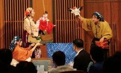 人形芝居えびす座の公演