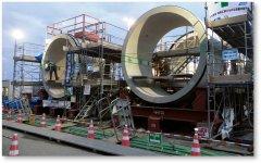 石巻市で採用された超大口径推進管