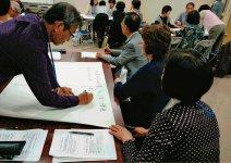 授業では生徒6人ほどのグループをつくり、ワークショップも行う