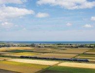 """ミナミノカオリは大分県最大の穀倉地帯、宇佐平野で栽培される。原料から製造、販売までのトレーサビリティー(追跡可能性)で、""""安心・安全""""を提供する"""