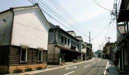 有田町の文化的景観「日本の20世紀遺産」に認定されている内山のまち並み
