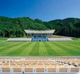 W杯のために新設された「釜石鵜住居復興スタジアム」では、9月25日にフィジー対ウルグアイ、10月13日にナミビア対カナダの2試合が行われる