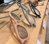 展示された鯖江の眼鏡