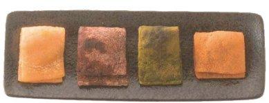 わらびの蕨餅:新たな土産品として開発中の大人向け高級銘菓。本格販売に向けて準備中