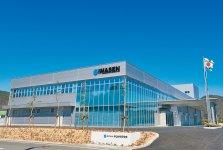 岐阜県が整備した先進産業情報団地、テクノプラザ内に、2011年に本社を移し、生産性向上を図る