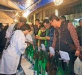 毎年10月に開催される、上越の酒とグルメが集合する越後・謙信SAKEまつり
