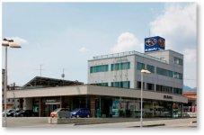 南信スバル本社社屋:安心安全を地域に提供