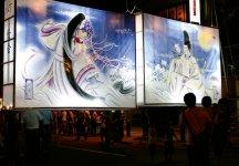 七夕絵どうろうまつり:毎年8月5~7日に開催。浮世絵や美人画が描かれた絵どうろうの色彩と優雅さは、全国にも例をみない