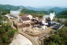 山葵沢地熱発電所:最大出力4万6199kW。国内地熱発電所では4番目の規模を誇る。令和元年5月運転開始[提供:湯沢地熱株式会社]