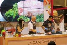 香港最大級の国際総合食品見本市「Food Expo 2018」でのプロモーション活動。外国産との違いを実演でPRした