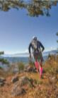 標高1139メートルからの絶景を眺めながら走る