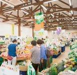 大勢の人でにぎわう農産物等直売所「きなぁた瑞浪」