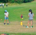 ゴルフのまち 小学生親子スナッグゴルフ体験会