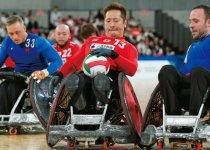 東京で昨年10月中旬に行われた「車いすラグビーワールドチャレンジ2019」で銅メダル獲得に貢献した島川慎一選手 撮影:吉村もと