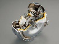 トルクコンバータ:オートマチックトランスミッションに搭載されている部品