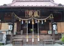栃木の地名は屋根ぐしの千木(ちぎ)に由来するといわれている神明宮