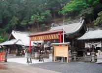 太平山山頂付近にある太平山神社