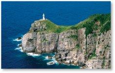 大瀬崎灯台(五島列島福江島):映画「悪人」の舞台となり、クライマックスの名シーンが撮影された