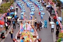 牛深ハイヤ祭りのハイヤ総踊り