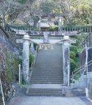 世界文化遺産に認定された、﨑津集落の﨑津諏訪神社