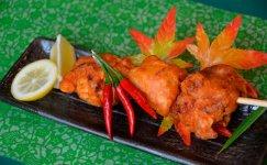 栃木三鷹と唐揚げを掛け合わせた新名物「大田原さんたからあげ」。市内の飲食店の一部で個々にアレンジしたメニューとして展開中