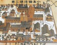 明治時代から敷地内のレールが工場間を結び、部品や製品を運んでいた