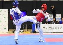 東京パラリンピック代表選手最終選考会「サンマリエカップ」で、力強い蹴りを繰り出す田中光哉選手(右) 撮影:吉村もと