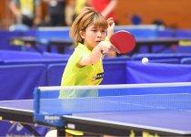 「ジャパンオープン2019」時の古川選手。巧みなサーブと豪快なスマッシュで攻め抜いた 撮影:吉村もと