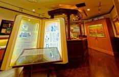 「金融資料館」は七十七銀行創業120周年を記念し、1998年12月に同行本店4階に開設され、2019年にリニューアルオープンした。お金の歴史と役割、宮城県や日本の産業・経済などについて紹介され、渋沢栄一に関する資料も展示されている。