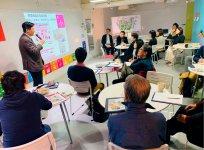 SDGsを商店街がどう活用できるかをテーマに実施されたSDGs活用セミナー