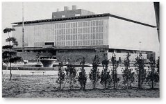 新潟地震復興記念 新潟県民会館の落成