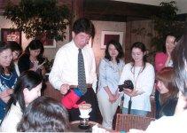 地元の人にとって、鈴木さんが開くコーヒー教室は本格的コーヒーへの入り口だった