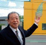 「現在は大手レストランへの卸売りが主な事業ですが、それでもうちの看板商品はグリーンソフトです」と語る林和宏社長